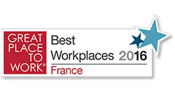 Great Place To Work 2016 Logo