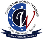 Center For Women Veterans Logo