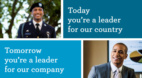 Today you're a leader for our country, tomorrow you're a leader for our company