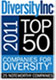 Diversity Inc 2011, Top 50