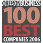 '100 Best Companies to Work For' -Oregon Business magazine