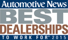 Automotive News Best Dealerships 2015